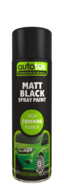 Autotek Matt Black Spray Paint - High Coverage
