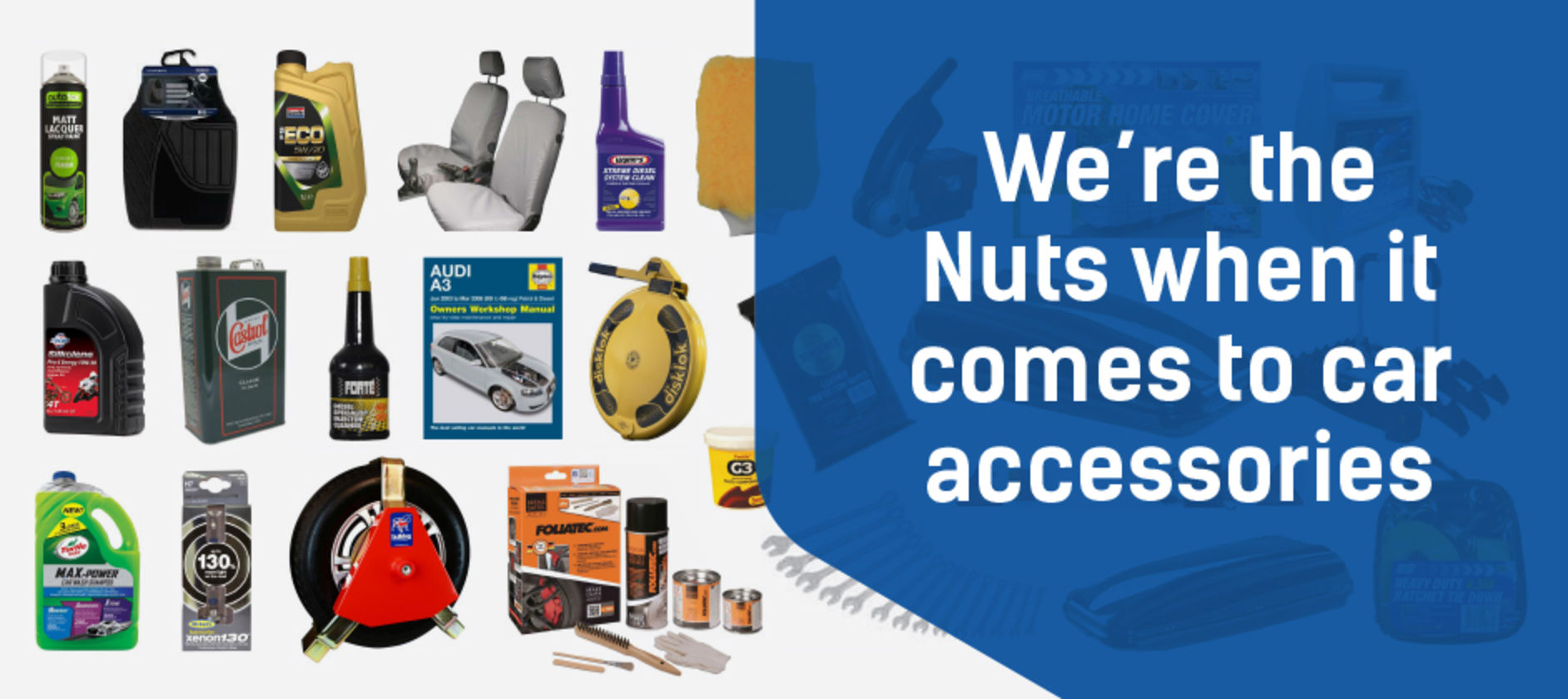 We're the Nuts...accessories