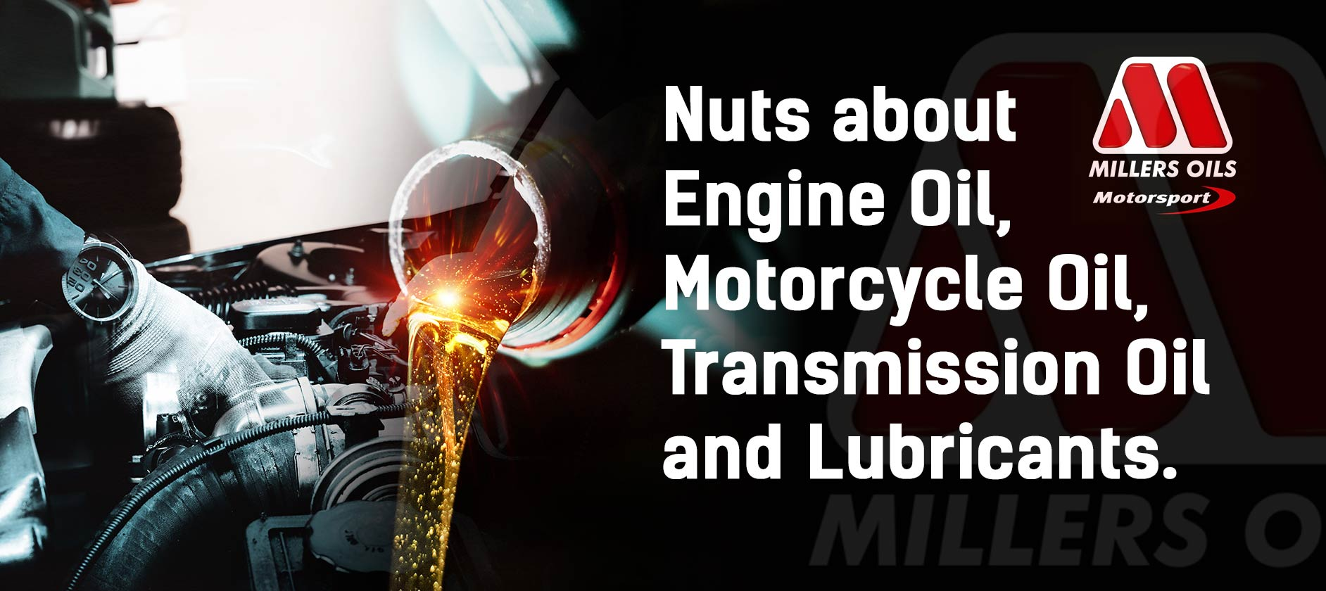 Nuts about Engine Oil, Motorcycle Oil, Transmission Oil and Lubricants.