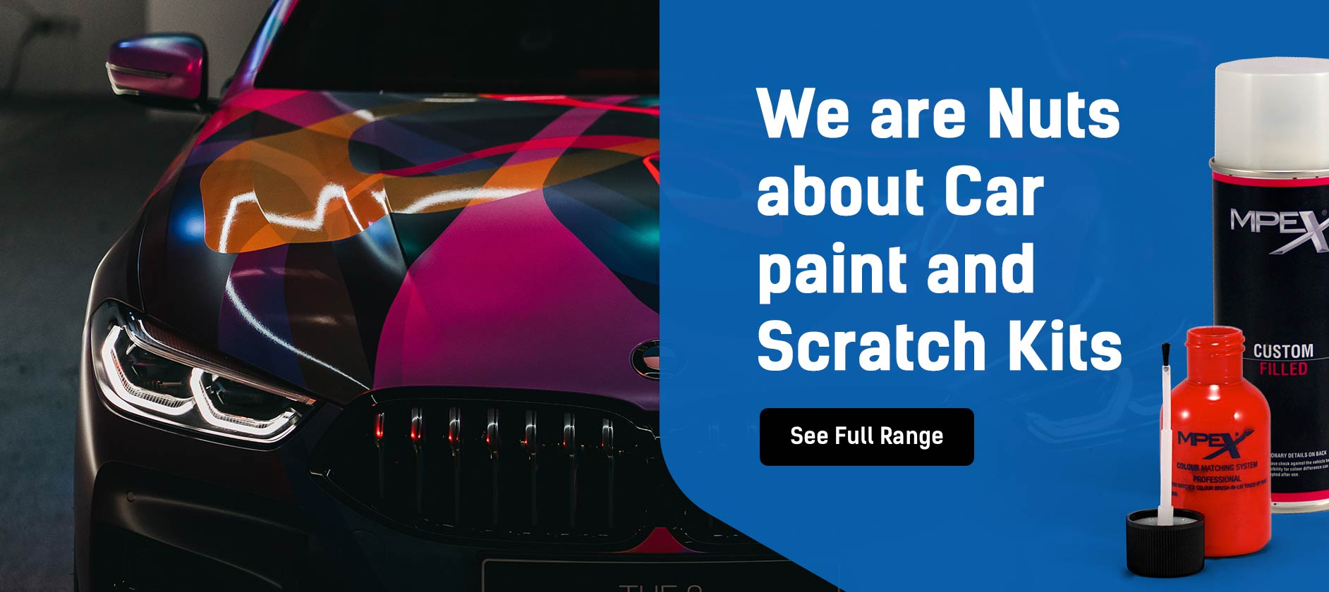 We are Nuts about Car paint and Scratch Kits
