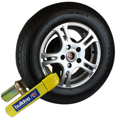 Bulldog EM500SS  - Wheel Clamp - Cars, Caravans & Trailers