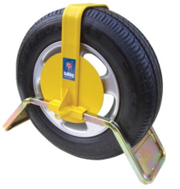 "Bulldog QD34 Wheel clamp For 13"" Caravan & Trailer Wheels"