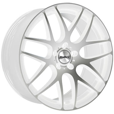 VW T5 & T6 Calibre Exile-R White / Polished Alloy Wheels -  Set Of 4