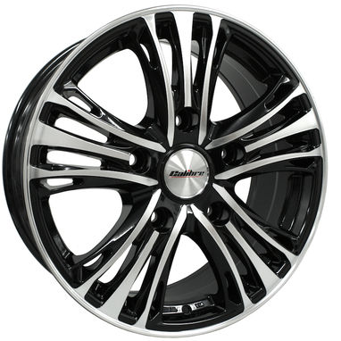 Ford Transit Custom Alloy Wheels Calibre Odyssey - Gloss Black / Polished