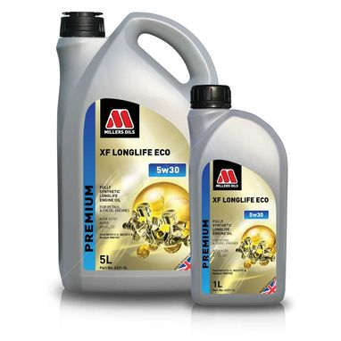 Millers XF Longlife ECO 5w30 Fully Synthetic Engine Oil
