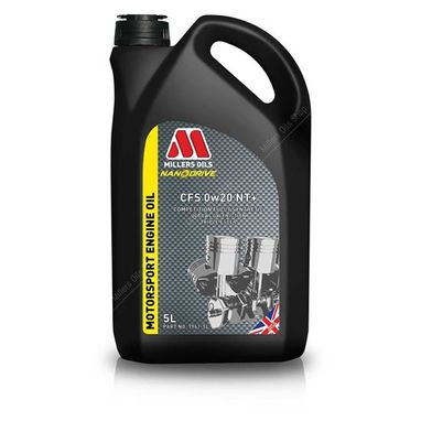 Millers CFS 0w20 NT+ Fully Synthetic Engine Oil - 5 Litres
