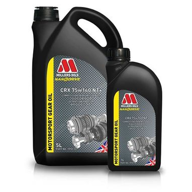 Millers Oils CRX 75w140 NT+ Transmission Oil