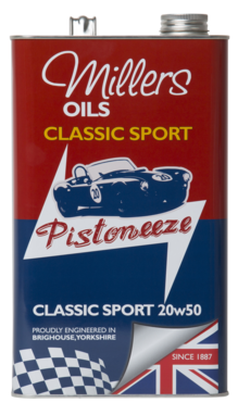 Millers Classic Sport Semi Synthetic 20w50 Engine Oil