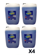 POLYGARD Arctic Screen Wash - Concentrated (-20°C) - 4 x 25 Litre - Box of 4