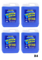 POLYGARD Arctic Screen Wash - Concentrated (-20C) - 4 x 5 Litre - Box of 4