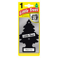 LITTLE TREES Black Ice - 2D Air Freshener