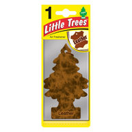 LITTLE TREES Leather - 2D Air Freshener
