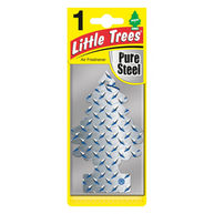 LITTLE TREES Pure Steel - 2D Air Freshener