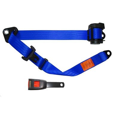 SECURON Seat Belt - Auto Lap & Diagonal - Blue