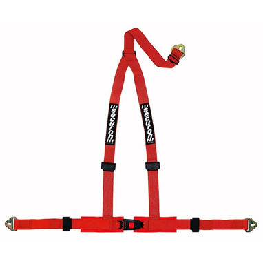 SECURON Harness - 3 Point & Snap Hooks - Red