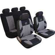 REZISTANZ Car Seat Cover Precision - Set - Black/Grey