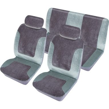 COSMOS Car Seat Cover Heritage - Set - Grey