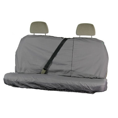 TOWN & COUNTRY Car Seat Cover Multi Fit - Rear - Grey