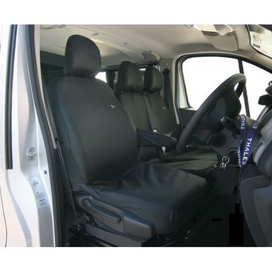 Renault Trafic 2014 Onwards Heavy Duty Drivers Seat Cover - Town & Country