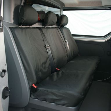 Renault Trafic 2014 Onwards Heavy Duty Crew Seat Cover - Town & Country