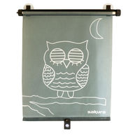 SAKURA Side Sunshades - Rollerblind - Owl - Pack of 2