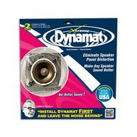 DYNAMAT Xtreme Noise Reduction Sheet - Speaker - 254mm x 254mm - Pack Of 2