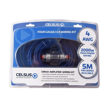 CELSUS CCA Wiring Kit - 4 AWG