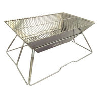 MILICAMP Foldable Stainless BBQ
