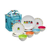 FLAMEFIELD Camper Smiles Dining Set with Cooler Bag