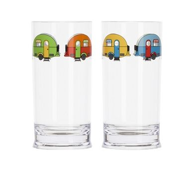 FLAMEFIELD Love Caravanning Tall Tumbler - Pack of 2