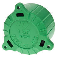 MAYPOLE Green Cap for 8-Pin/13-Pin Plugs