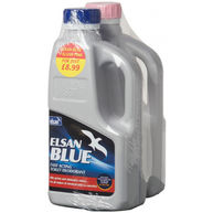 ELSAN Blue Toilet Fluid and Pink Rinse - 1 Litre Twinpack