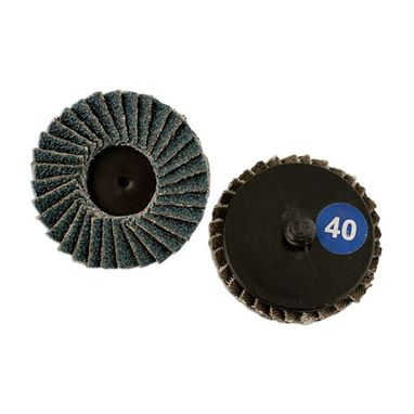 ABRACS Quick Lock Flap Discs - P40 - 50mm - Pack Of 5