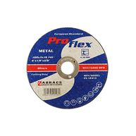 ABRACS Cutting Discs - Flat - 100mm x 3.2mm - Pack Of 10