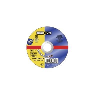 FLEXOVIT Cutting Disc - Flat - 115mm x 2.0mm