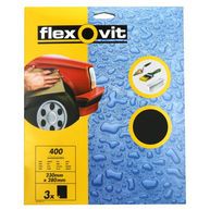 FLEXOVIT Wet & Dry Paper - P400 - Pack Of 3