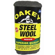 OAKEY NORTON Steel Wool - Medium - 200g