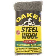 OAKEY NORTON Steel Wool - Coarse - 200g