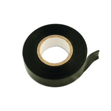 CONNECT PVC Insulation Tape - Black - 19mm x 20m - Pack Of 10