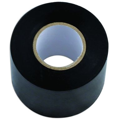 CONNECT PVC Insulation Tape - Black - 50mm x 20m - Pack Of 5
