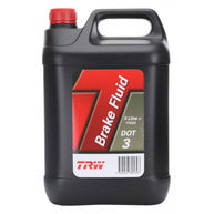 TRW DOT 3 Synthetic Brake Fluid - 5 Litre