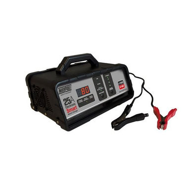 MAYPOLE Battery Charger - 25A - 12V - Electronic Bench Smart