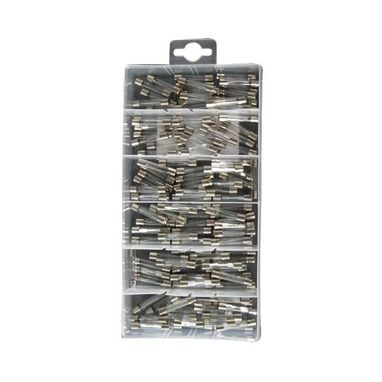PEARL CONSUMABLES Fuses - Assorted Glass - Pack Of 120