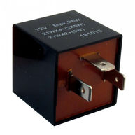CAMBIARE Flasher Relay - 12V - 92A - 3-Pin - Plug Type