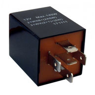 CAMBIARE Flasher Relay - 12V - 126A - 5-Pin - Bracket Type