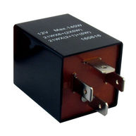 CAMBIARE Flasher Relay - 12V - 126A - 4-Pin - Plug Type