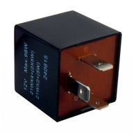 CAMBIARE Flasher Relay - 12V - 89A - 3-Pin - Plug Type