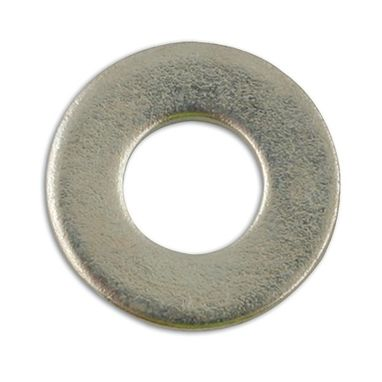 CONNECT Zinc Plated Washers - Table 3 Flat - 5/16in. - Pack Of 500