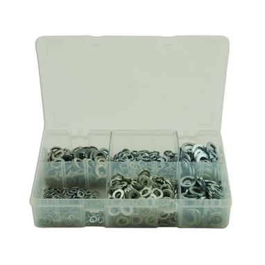 CONNECT Spring Washers -Imperial - Assorted - Box Qty 800