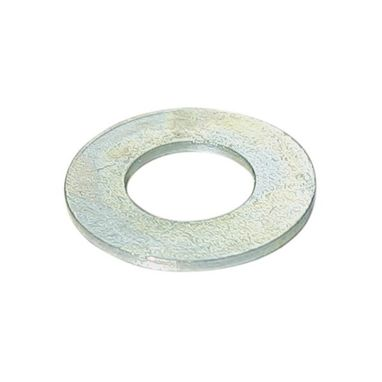 PEARL CONSUMABLES Zinc Plated Washers - Flat - 12mm - Pack Of 50